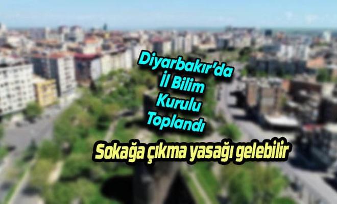 Diyarbakır'a sokağa çıkma yasağı gelebilir