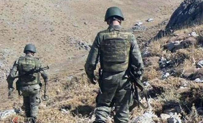 Pençe harekatında bir asker hayatını kaybetti