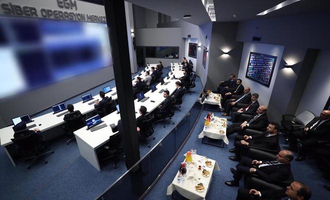 EGM'nin Siber Operasyon Merkezi açıldı
