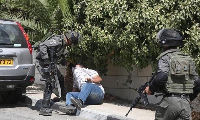 israil işgal askerleri 13 Filistinliyi gözaltına aldı