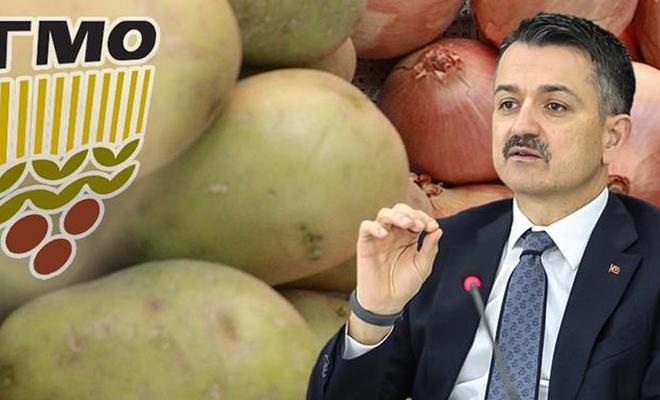 Stoktaki patates ve kuru soğan, ihtiyaç sahibi ailelere bedelsiz dağıtılacak