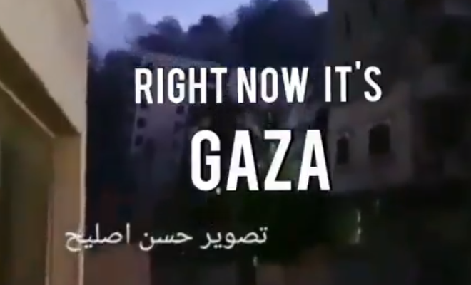 Netanyahu'nun propagandasını bozan video!
