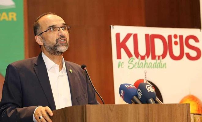 HÜDA PAR congratulates Palestinians on their victory over zionist occupation regime