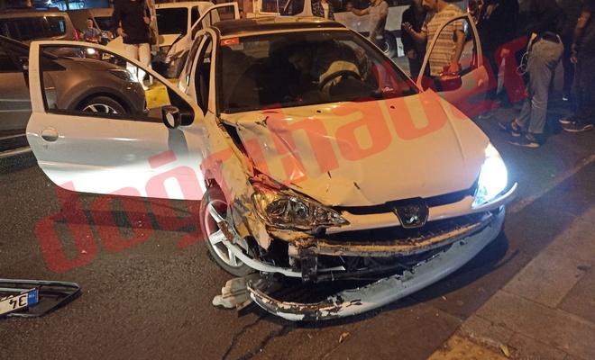 Bağcılar'da trafik kazası