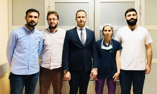 Mardin`de ilk kez kornea nakli ameliyatı yapıldı