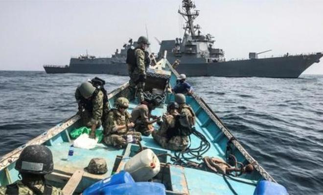 ABD tansiyonu yükseltti gemiye el koydu