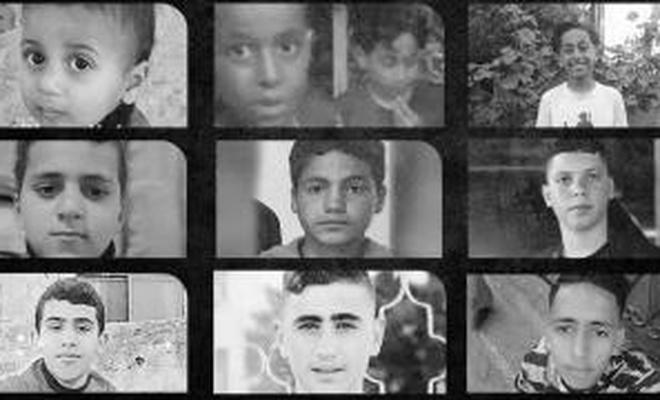 Filistin'in çocuk şehitleri