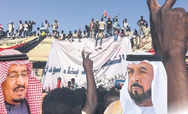 Suudi Arabistan ve BAE'den Sudan'a 50 bin tonluk yardım