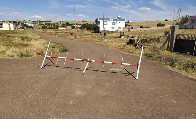Diyarbakır'da 60 haneli bir köy Coronavirus nedeniyle karantinaya alındı