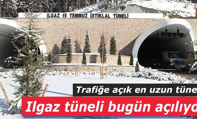 Trafiiğe açık en uzun tünel `Ilgaz`ı tüneli` açılıyor!