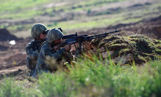 Fırat Kalkanı bölgesinde 3 PKK/YPG'li öldürüldü