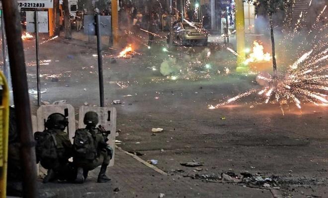 Direniş grupları bir kez daha Tel Aviv'i vurmaya başladı