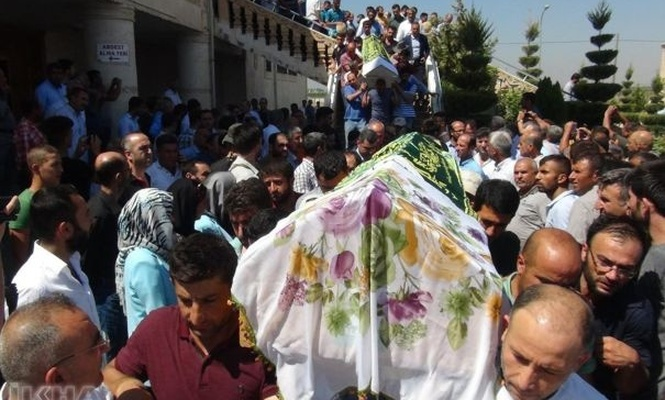7 laborer who lost their lives in the accident, was buried in Mardin