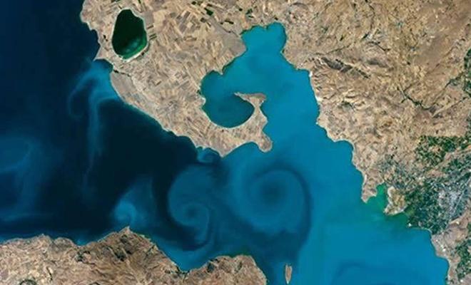 Van Gölü fotoğrafı birinci oldu