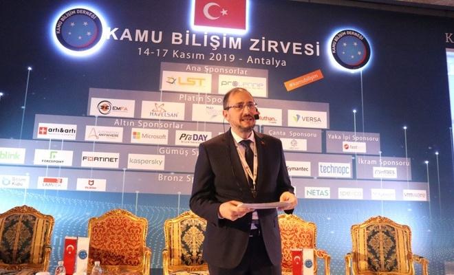 4.Kamu Bilişim Zirvesi Antalya'da Yapıldı