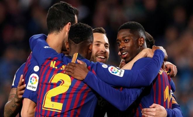 Barcelona şampiyonluğa ilerliyor