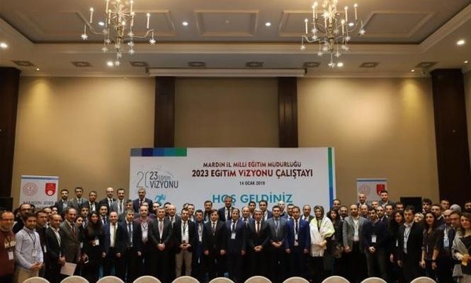 Mardin`de 2023 eğitim vizyonu çalıştayı