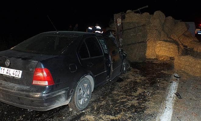 Bilecik`te trafik kazası: 5 yaralı