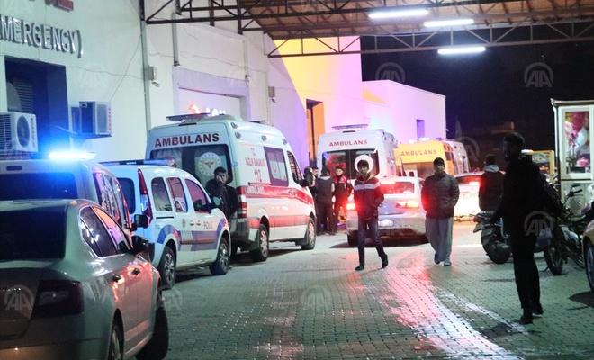 Devlet Hastanesi Acil Servisi'nde yangın