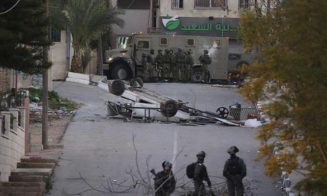 Terörist israil askerleri Batı Şeria`da durmuyor