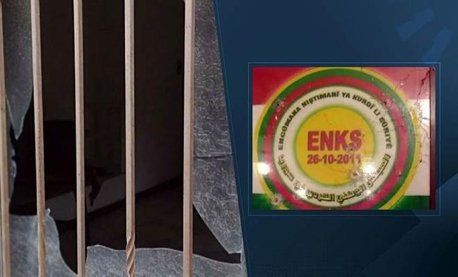 Kobani'de ENKS ofisine el bombalı ve silahlı saldırı