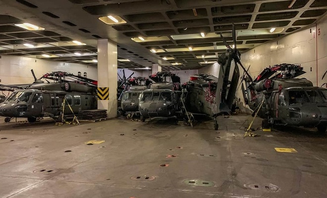 30 ABD helikopteri Dedeağaç'ta