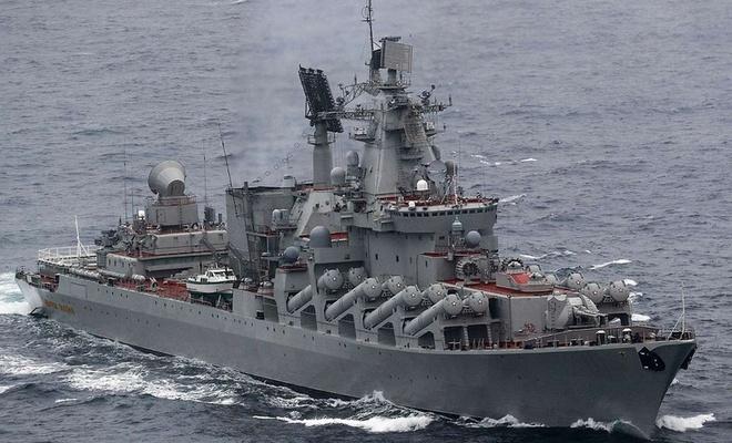 Rus donanmasından Pasifik Okyanusu'nda tatbikat