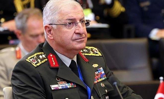 Genelkurmay Başkanı Güler Rusya mevkidaşı ile telefonda görüştü