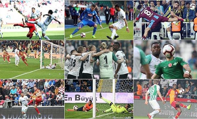 Süper Lig'de yarış kızıştı, işte toplu sonuçlar ve haftanın programı
