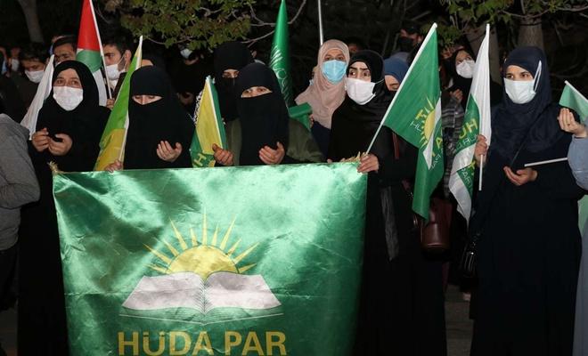 HÜDA PAR Ankara İl Başkanlığından Siyonist işgal rejimine tepki