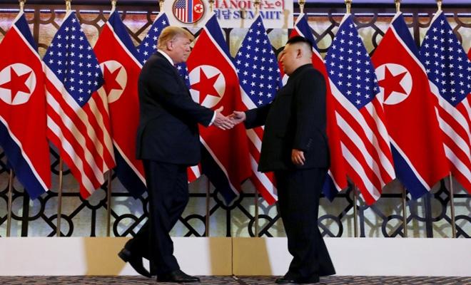 Trump ve Kim yeniden bir arada