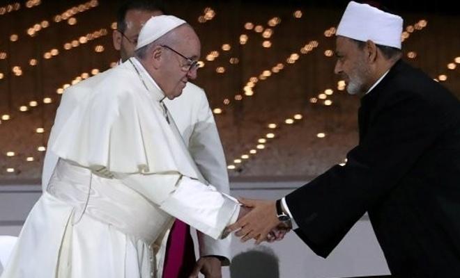 """Katoliklerle  """"Diyalogcu"""" Araplar arasındaki ilişki büyüyor"""