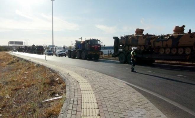 Suriye'ye askeri sevkiyat