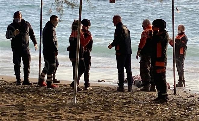 Muğla'da sahilde erkek cesedi bulundu