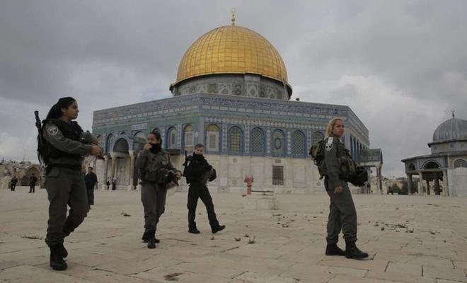 Siyonist işgal rejimi Filistinli 5 genç kızı alıkoydu