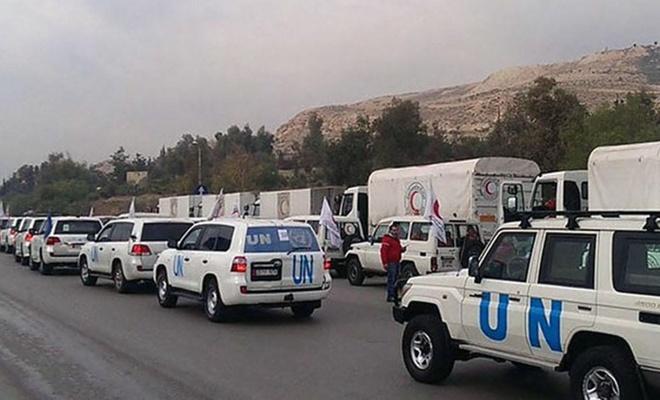 BM'nin Suriye'ye yardımları Türkiye'den ulaştırılacak