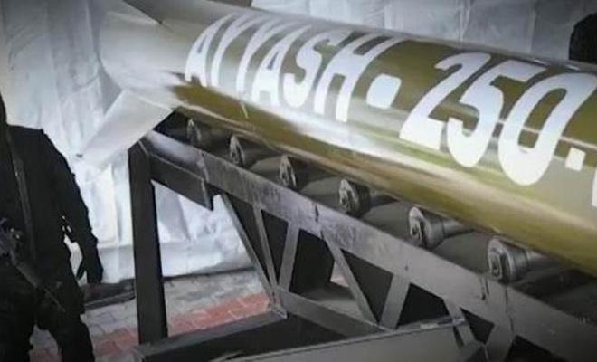 İzzeddin Kassam Tugayları, Ayyaş-250 füzelerinin görüntülerini ilk kez yayınladı!