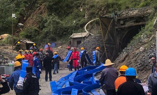 Li Çînê madenek di bin avê de ma: 3 mirî