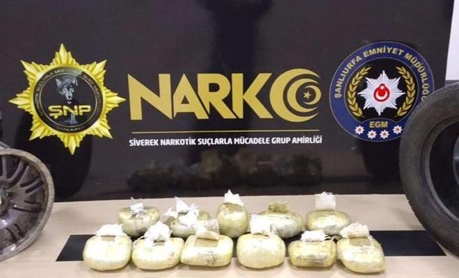 Şanlıurfa'da uyuşturucu operasyonunda 23 şüpheli tutuklandı