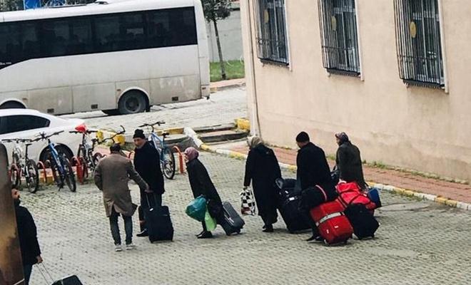 İstanbul'da karantinada bulunan vatandaşlar tahliye edilmeye başlandı