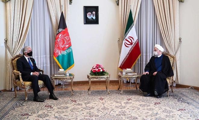 Ruhani'den Afgan barışına destek sözü