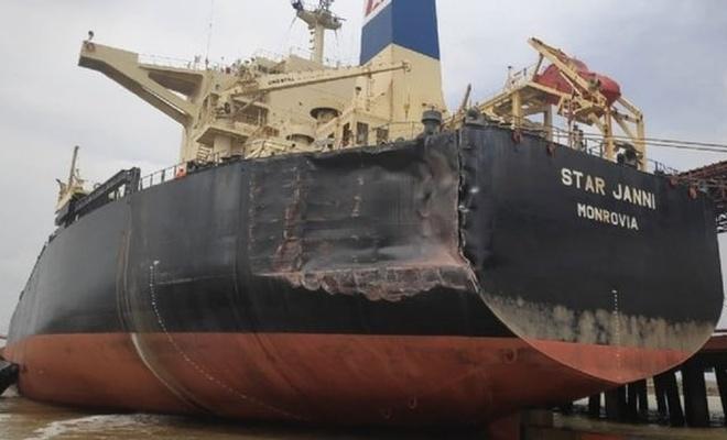 Türkiye gemisine baskın