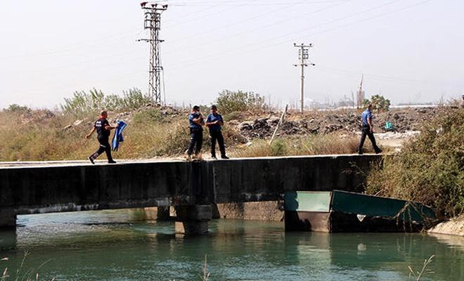 Adana'da sulama kanalında esrarengiz ceset