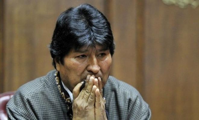 Evo Morales: Kanunen halen ben devlet başkanıyım