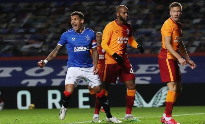 Rangers'a yenilen Galatasaray Avrupa'ya veda etti