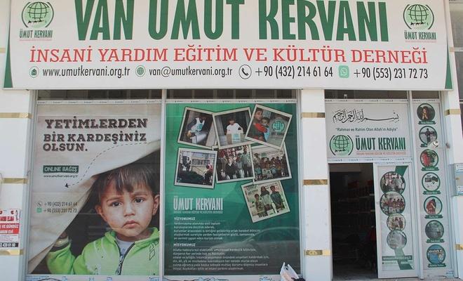 Van Umut Kervanı eylül ayında 200 aileye yardım ulaştırdı