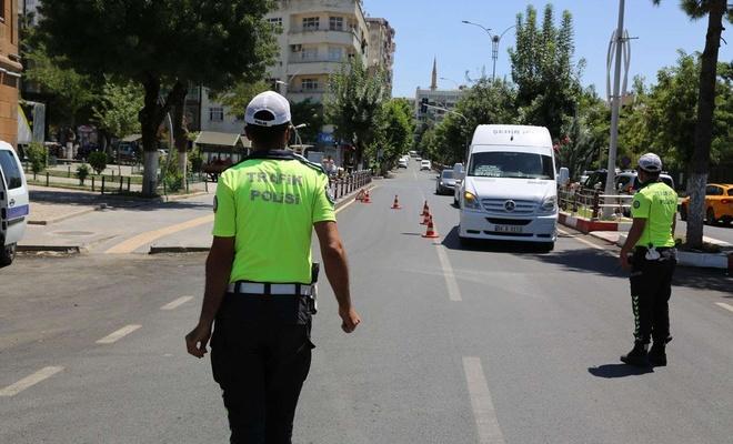 Siirt'te drone destekli trafik denetimi gerçekleştirildi