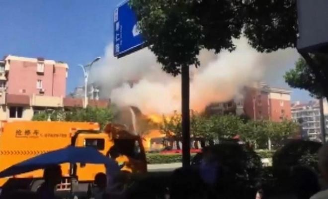 Çin'de restoranda gaz patlaması: Çok sayıda ölü ve yaralı var