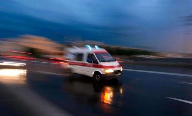Mültecileri taşıyan minibüs devrildi: Bir ölü 11 yaralı