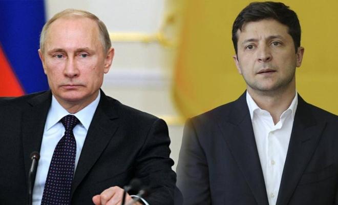 Vladimir Zelenskiy'den Putin'e görüşme teklifi